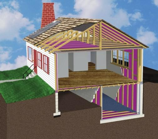 Insulation and Sealing Air Leaks C hecking your home s insulation is one of the fastest and most costefficient ways to use a wholehouse approach to reduce energy waste and make the most of your