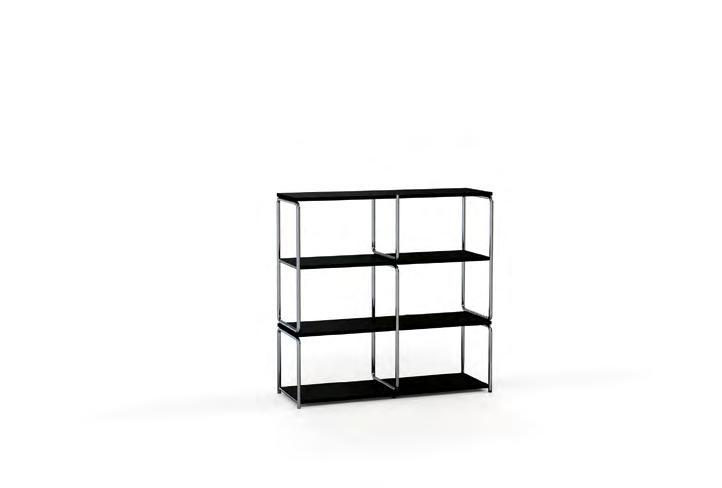 Its supports and shelves are designed to make it extremely versatile,