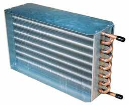 Chilled Water Cooling Coils AAON offers an array of options to satisfy hydronic cooling coil requirements whether the application calls for chilled water only or a glycol solution for freeze