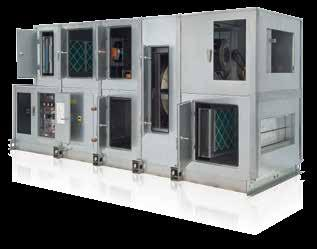 AAON M3, M2, SA, H3/V3, F1, RL, RN & RQ Series Air Handling Units aaon m2 series modular indoor and outdoor air handling units utilize quality construction to provide low air leakage, minimal