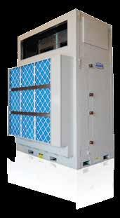 AAON M3, M2, SA, H3/V3, F1, RL, RN & RQ Series Air Handling Units aaon sa series indoor air handling units lead the industry in construction and performance.