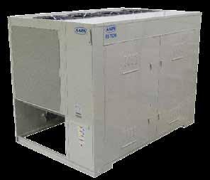AAON CL, CN, CC & CB Series Condensers and Condensing Units aaon cn series condensing units offer a cost effective, feature laden approach to energy efficient cooling.