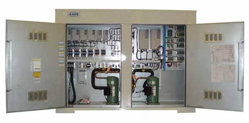 Installation Manual and Run Test Report Labeled Electrical Components Features and Options Split system modulating humidity control is available to provide energy efficient dehumidification, even