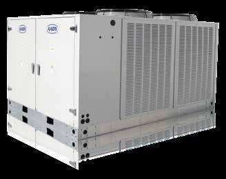 many available options are factory installed to minimize field installation time and reduce costs. Applications Air-cooled or water-cooled condensing unit or remote condenser, from 2-63 tons.