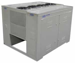 AAON LZ, LN, & LC Series Chillers & Outdoor Mechanical Rooms aaon ln series chillers and outdoor mechanical rooms are engineered for performance and serviceability.