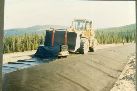 MIDDLE CREEK DAM USE OF GEOSYNTHETICS