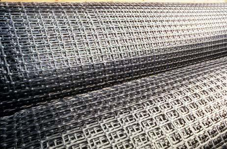 ROLLS OF GEOGRIDS