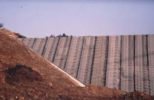 FIGARI DAM LESSON LEARNED Non-reinforced PVC geomembranes should not be used on steep slopes.