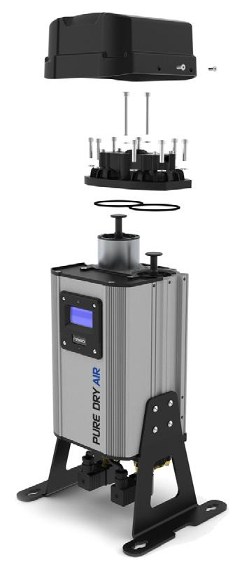 nano D-Series 1 compressed air dryers Clean and dry compressed air is easily achieved with the new range of nano D-Series 1 ultra-high purity compressed air dryers.