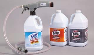 5 gallons per minute, Easy-Blend Dispensing Systems are designed to fill both spray bottles and mop buckets, with one unit Easy-Blend Dispensing System is perfect for chemical dispensing in