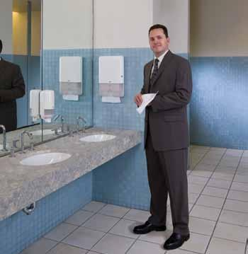Lift your washroom with the right selection A clean and well-managed washroom shows concern for your guests and employees.