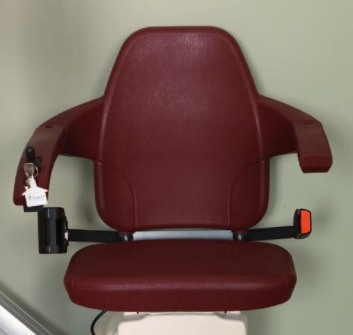 Elegance Elegance The new Elegance seat is lightly padded and offers a harmonious