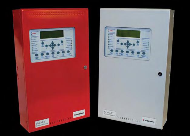 FireNET Series - ANALOG ADDRESSABLE FIRE ALARM CONTROL PANEL The FireNET 427 control panel is an analog addressable fire alarm panel containing 2 or 4 SLC loops with each loop supporting 27 devices