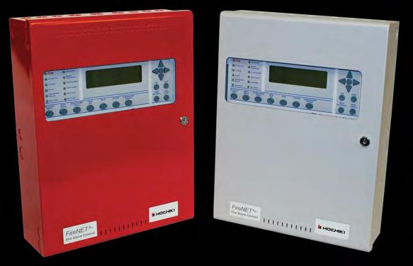 FireNET Plus - ANALOG ADDRESSABLE FIRE ALARM CONTROL PANEL The FireNET Plus 27 series control panel is an analog addressable fire alarm panel with build options containing or 2 SLC loops, a Digital