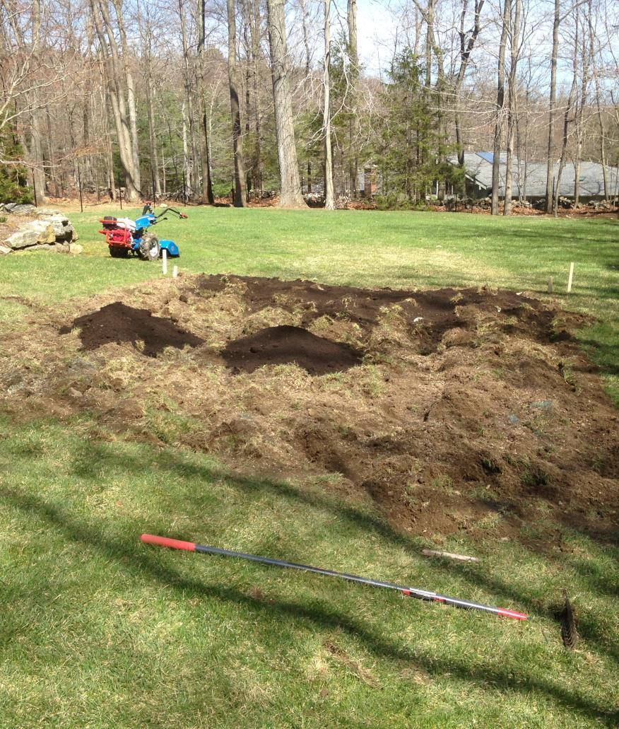 Breaking Ground Gather your amendments Access to machinery Sod removal vs.