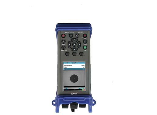 Ideal for testing, troubleshooting and documenting enterprise, LAN/WAN, Campus and military single mode and multimode fibre networks Built in Optical Power Meter,