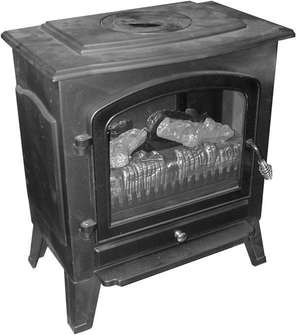 ELECTRIC FIREPLACE HEATER WITH SINGLE GLASS DOOR Model 91797 ASSEMBLY and Operating Instructions Visit our website at: http://www.harborfreight.com Read this material before using this product.