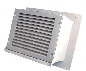 WCXF Series Flat Extended Brick Wall Cap RRAIN SCREEN HVAC VENTING Wall Caps The Primex Flat Extended Brick Wall Cap (WCXF) increases the depth of the Wall Cap for use on
