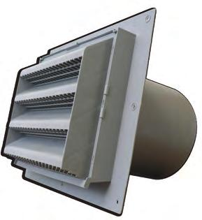 WCL Low Profile Intake & Exhaust Vents RRAIN SCREEN HVAC VENTING Wall Caps The Primex Low Profile Intake and Exhaust Vents (WCL Series) eliminate leaky joints while maximizing water protection with a