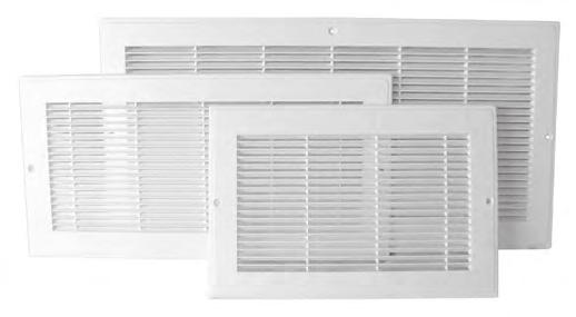 HVAC VENTING Grilles RG/B Series Baseboard/Flushmount Return Grilles The Primex Baseboard/Flushmount Return Grilles (RG/B Series) provides an aesthetically-pleasing finish to a range of return air