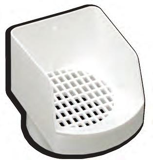 BUILDING PRODUCTS Gutter Accessories LS401 Leaf Strainer Outlet The Primex Leaf Strainer Outlet