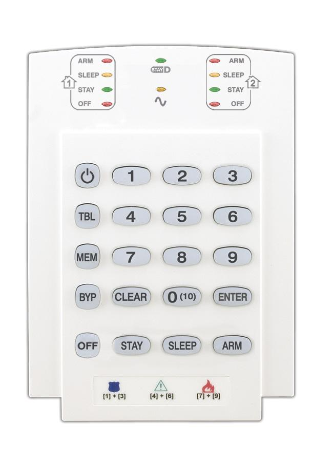 Each time the [ENTER] key is pressed, the keypad will display the next digit in the current section and will continue through all the following sections one digit at a time without changing the