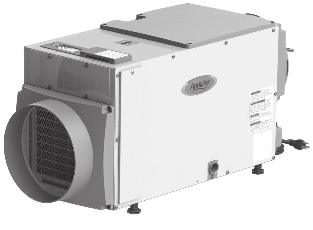 Model 8191 & 8192 Ventilator with Dehumidification Installation and Operating Instructions ON/OFF button used to turn the ventilator on and off Up/Down buttons used to change humidity or vent time