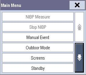 3.6 Using the Main Menu To enter the main menu, select the through the main menu. 1 on-screen QuickKey.