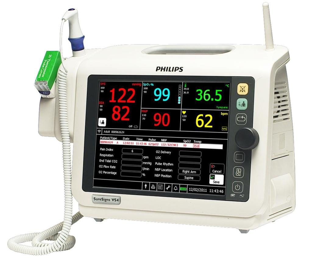 Additionally, the monitor is intended for use in transport situations within a healthcare facility.