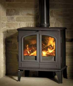 Esse 700 27B MODEL Roomheater with boiler WOOD BURNING