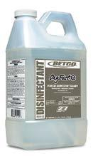 OXYFECT G This versatile product can be used throughout your facility, the ph balanced formula cleans and kills antibiotic organisms and is safe for use on glass, floors, and