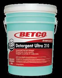 BREAK ULTRA 110 Ultra Concentrated alkaline builder formulated to work synergistically with Detergent 210 in the wash cycle.