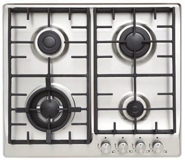 7 Mj/h 580mm W x 500mm D x 55mm H* Cut Out Dimensions 553mm W x 473mm D * Height measured from benchtop to top of cast iron trivet, measurement from base is 87mm UPRIGHT COOKER BP90S 90cm Dual Fuel