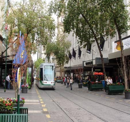 Reinvigorating the pavement city High quality local public transport as part of urban design