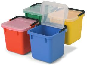 629763 - Green 629762 - Yellow WITHOUT LIDS 629532 -