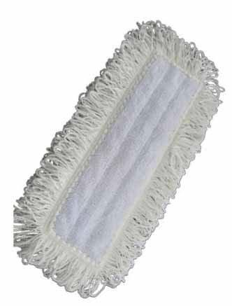 White clean N dry mop covers White theatre scrub mop Clean & Grab White bleach resistant wall washing cover White