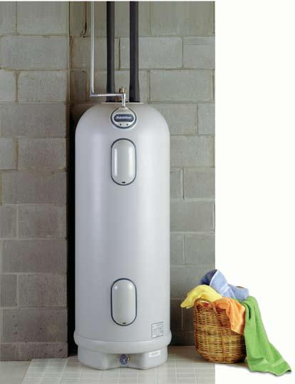 Conventional water heaters offer a ready supply of hot water via a storage tank.