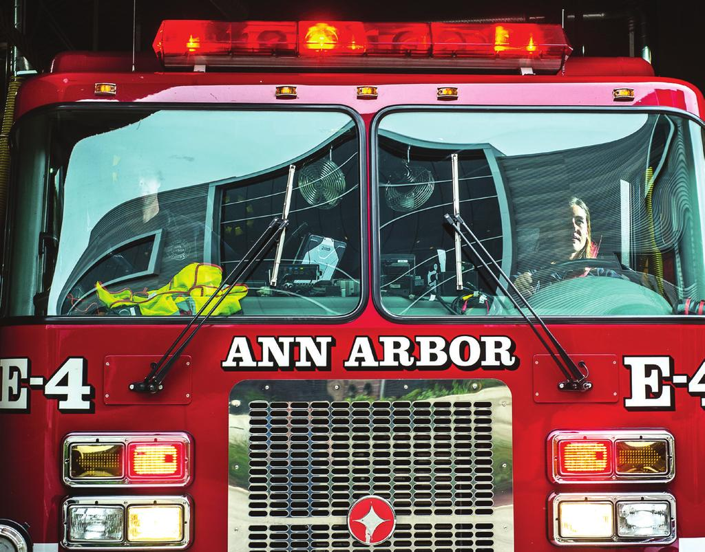 ANN ARBOR FIRE DEPARTMENT Fire Inspection Program OUR MISSION: The mission of the Ann Arbor Fire Department is to efficiently and professionally protect the residents and visitors of the City of Ann