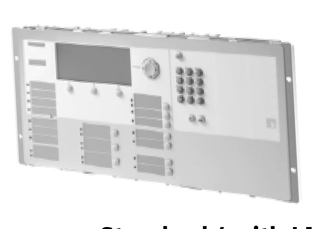 Either Operating Unit allows for connection to the Remote Peripheral Module (Model FCA2018-U1) and / or the Remote Terminal Displays (Models FT2014-U2 / R2; FT2015-U2 / R2).