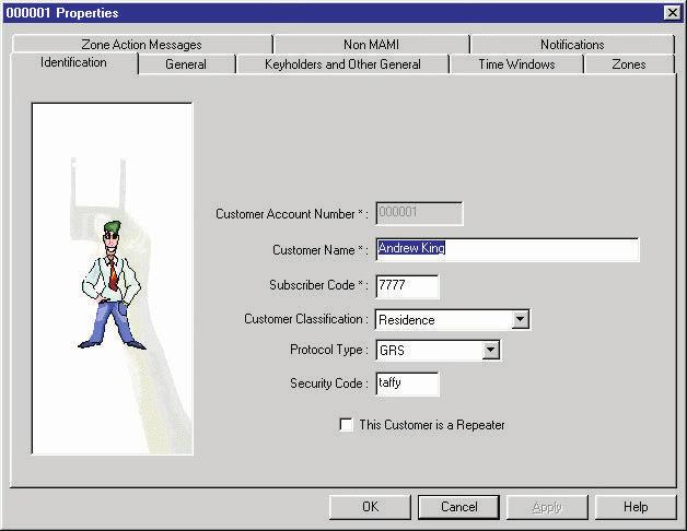 19.Adding a New Customer: Note! Only an administrator may add a new customer to the database.