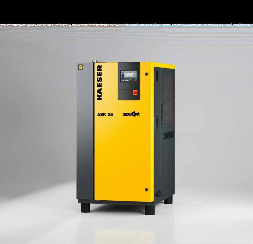COMPRESSORS Rotary Screw Compressors ASK Series With the world-renowned