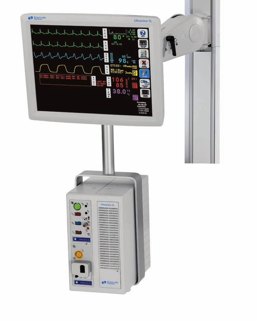 Flexible Monitoring for Every Care Area The Ultraview SL 2700