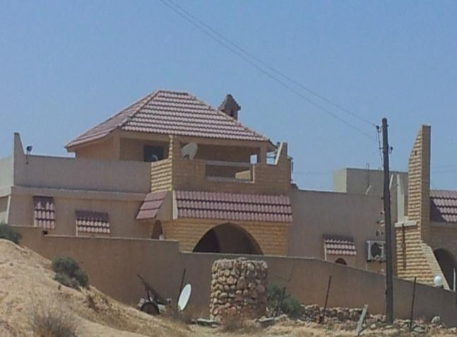 Figure 8.46: Air-conditioning system on the east façade of Arabi Belhadj house in Gharyan.