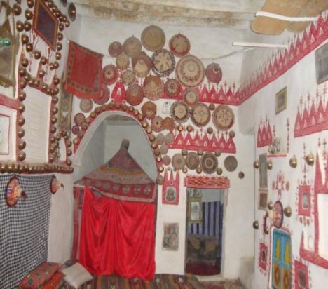 Figure 8.61: The largest room is the central hall in Abdulsalam Ali house in Ghadames.