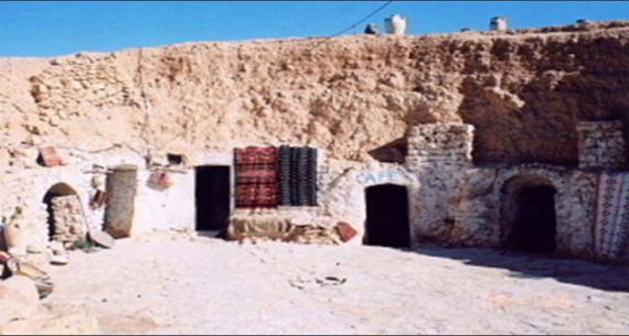 4.1.1. An underground house in Matmata (Tunisia) Matmata is a town in Tunisia.