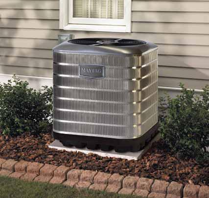 Maytag M1200 High Efficiency 14 and 15 SEER Air Conditioners & Heat Pumps Maytag 14 and 15 SEER air conditioners and heat pumps provide you with