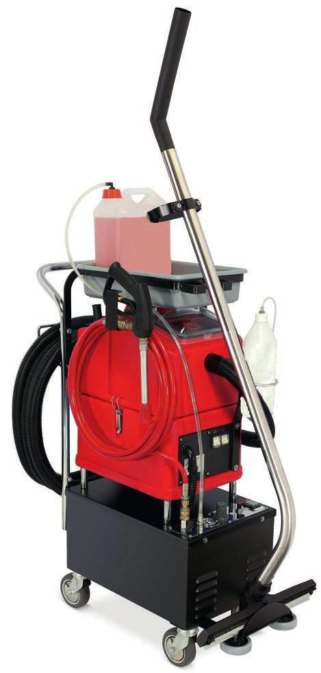 anik 30 FOAMTEC SPRAY-SUCTION MACHINE WITH FOAMING TECHNOLOGY ANIKO30 FOAMTEC is a small spray-suction machine with foam technology for professional use on walls, ceilings and other surfaces that