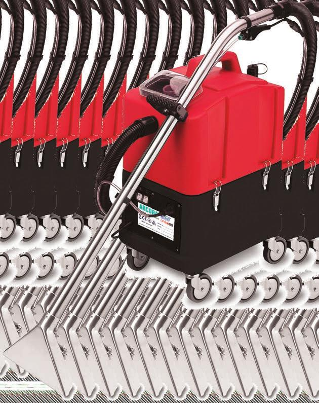 anik 60 SPRAY EXTRACTION MACHINE ANIKO60 is a spray extraction machine for professional cleaning of midsized carpet and hard floor surfaces.