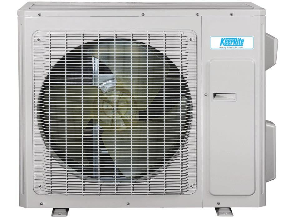 Heating & Cooling Products DLCA/DLFA A High Wall System Single Zone High Efficiency and High Performance Heat Pump with Basepan Heater Up to 30.5 SEER 10.