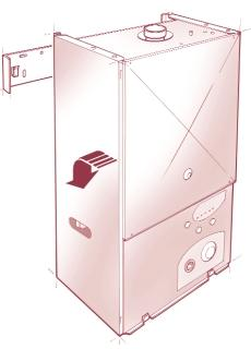 4 INSTALLING THE APPLIANCE Before installing the appliance, check that the chosen location is suitable (section 3.2), and that the requirements for flue position (section 3.